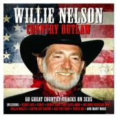 NELSON WILLIE  - 3xCD COUNTRY OUTLAW