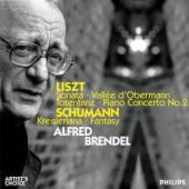 BRENDEL ALFRED  - 2xCD BRENDEL PLAYS LISZT&SCHUMANN