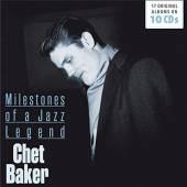 BAKER CHET  - CD 10 ORIGINAL ALBUMS