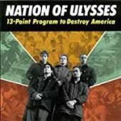 NATION OF ULYSSES  - VINYL 13 POINT PROGR..