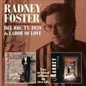 FOSTER RADNEY  - 2xCD DEL RIO TX 1959/ LABOR..