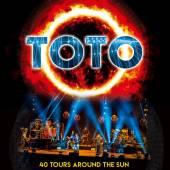 TOTO  - DVD 40 TOURS AROUND THE SUN