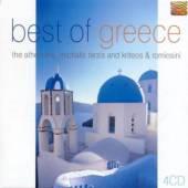 VARIOUS  - 4xCD BEST OF GREECE