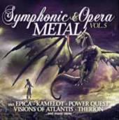 VARIOUS  - CD SYMPHONIC & OPERA METAL VOL.5