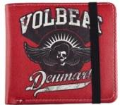 VOLBEAT =WALLET=  - PNZ MADE IN (WALLET) /RED