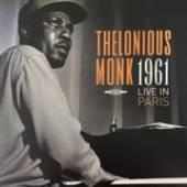 MONK THELONIOUS  - VINYL LIVE IN PARIS 1961 [VINYL]