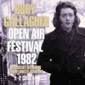 RORY GALLAGHER  - CD+DVD OPEN AIR FESTIVAL 1982 (2CD)