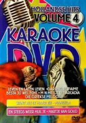 KARAOKE  - DVD HOLLANDSE HITS VOL.4