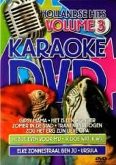 KARAOKE  - DVD HOLLANDSE HITS VOL.3