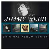 JIMMY WEBB  - 5xCD ORIGINAL ALBUM SERIES