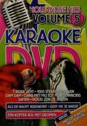 KARAOKE  - DVD HOLLANDSE HITS VOL.5