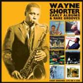 WAYNE SHORTER  - 4xCD EARLY ALBUMS & RARE GROOVES (4CD)