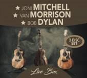 MITCHELL JONI / VAN MORR  - CD LIVE BOX -LTD/DIGI-