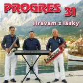 PROGRES  - CD 31. HRAVAM Z LASKY