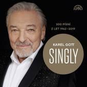 GOTT KAREL  - 15xCD SINGLY / 300 PISNI Z LET 1962-2019