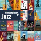 VARIOUS  - CD+DVD MASTERPIECES OF JAZZ (2CD)