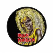 IRON MAIDEN  - PTCH KILLERS FACE (PACKAGED)