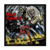 IRON MAIDEN  - PTCH NUMBER OF THE BEAST (PACKAGED)