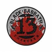 BLACK SABBATH  - PTCH 13 / FLAMES CIRCULAR (PACKAGED)