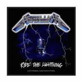 METALLICA  - PTCH RIDE THE LIGHTNING