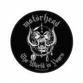 MOTORHEAD  - PTCH THE WORLD IS YOURS