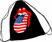 ROLLING STONES  - GYMS USA TONGUE (DRAW STRING)