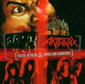 ANTHRAX  - CD FISTFUL OF METAL/ARMED AN