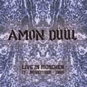 AMON DUUL  - VINYL LIVE IN MUNCHE..