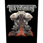 IRON MAIDEN  - PTCH MAIDEN ENGLAND (BACKPATCH)