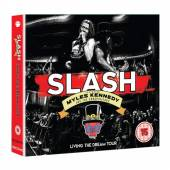 SLASH MYLES KENNEDY AND THE CO..  - CD LIVING THE DREAM TOUR (2CD/DVD)