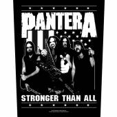 PANTERA  - PTCH STRONGER THAN ALL (BACKPATCH)