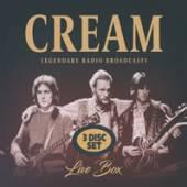 CREAM  - CD LIVE BOX (3CD)