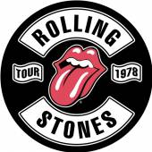 ROLLING STONES  - PTCH TOUR 1978 (BACKPATCH)
