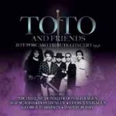 TOTO AND FRIENDS  - 3xCD JEFF PORCARO TRIBUTE CONCERT 1992