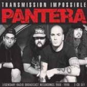 PANTERA  - 3xCD TRANSMISSION IMPOSSIBLE (3CD)