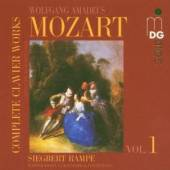 MOZART WOLFGANG AMADEUS  - CD COMPLETE CLAVIER WORKS VO