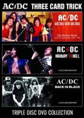 AC/DC  - DVD THREE CARD TRICK (3DVD)