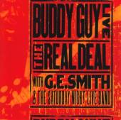 GUY BUDDY  - CD LIVE: THE REAL DEAL