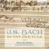 BACH JOHANN SEBASTIAN  - 2xCD KUNST DER FUGE