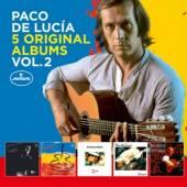 DE LUCIA PACO  - 5xCD 5 ORIGINAL ALBUMS VOL. 2