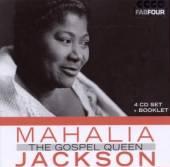 JACKSON MAHALIA  - 4xCD GOSPEL QUEEN