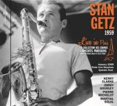 GETZ STAN  - CD LIVE IN PARIS 1959