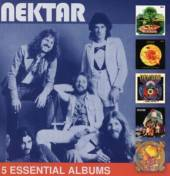 NEKTAR  - 5xCD 5 ESSENTIAL ALBUMS