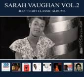 VAUGHAN SARAH  - 4xCD EIGHT CLASSIC ALBUMS VOL.2 -DIGI-