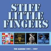 STIFF LITTLE FINGERS  - 4xCD THE ALBUMS 1991..