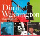 WASHINGTON DINAH  - CD 3 ESSENTIAL ALBUMS