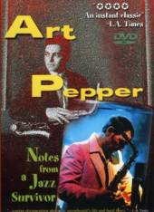 PEPPER ART  - DV NOTES FROM A JAZZ SURVIVO