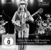 BETTS DICKEY & GREAT SOUTHERN  - 5xCD+DVD LIVE AT ROC..