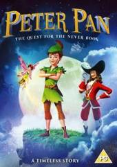 ANIMATION  - DVD PETER PAN: QUEST FOR..