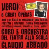 ABBADO CLAUDIO - GORO E ORCHES  - 14xCD VERDI 6 GREAT OPERAS